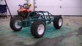 homemade huge rc scale car big rc 50 cc part 1