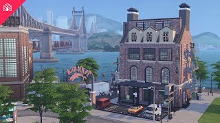 The Loft | The Sims 4: Speed Build