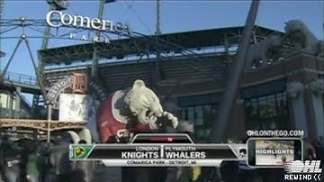 OHL Rewind - Wayback Wednesday: London Knights vs Plymouth Whalers - Dec 29 2013 Outdoors @ Comerica
