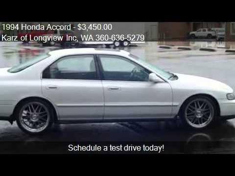 1994 Honda Accord EX-PKG, 4-DOOR - for sale in Longview ...
