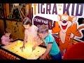 Детский игровой терминал - сенсорный стол TigraKids