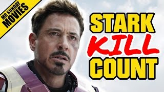 IRON MAN Movie Kill Count Supercut (Plus Robots)