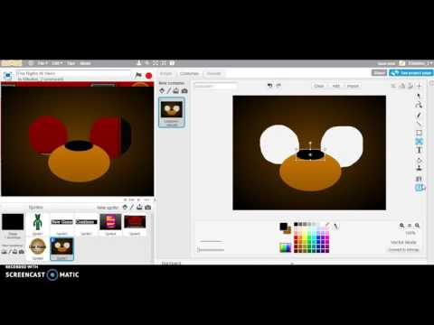 YOU CAN TRY AND HIDE...   FNAF Scratch Tutorial #6
