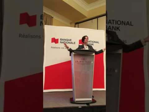 Diane Giard of National Bank/Diane Giard de la Banque Nationale