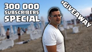 Чукнахме 300к абоната! - Мащабен GiveAway!