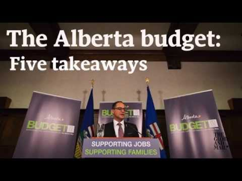 Five takeaways from the Alberta budget