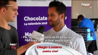 Happy Food - Chocolate Art Show by Chef Diego Lozano