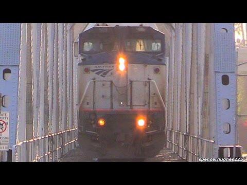 AMTRAK TRAINS (May 20th - June 18th, 2016) + BNSF/Metrolink Trains