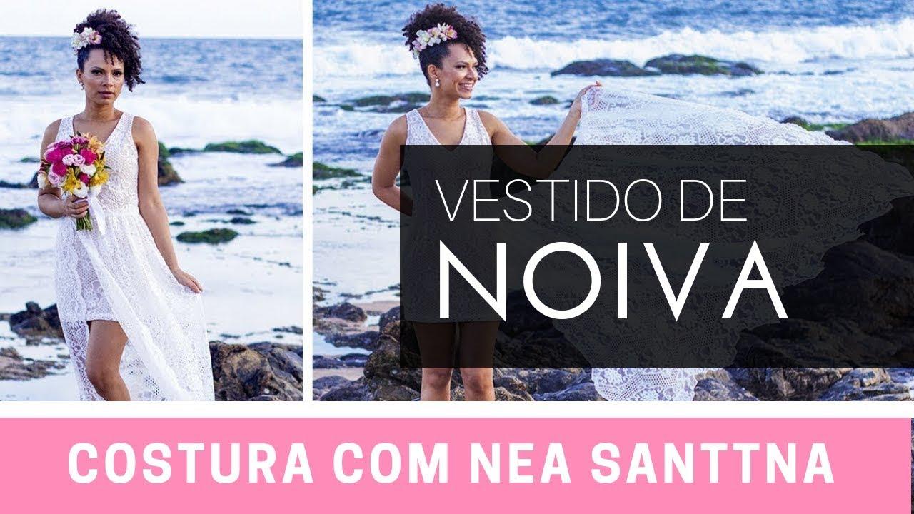 8c6234122 DIY Vestido de noiva para casamento na praia   Clube da Costureira
