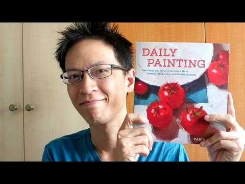 Book Review: Daily Painting by Carol Marine