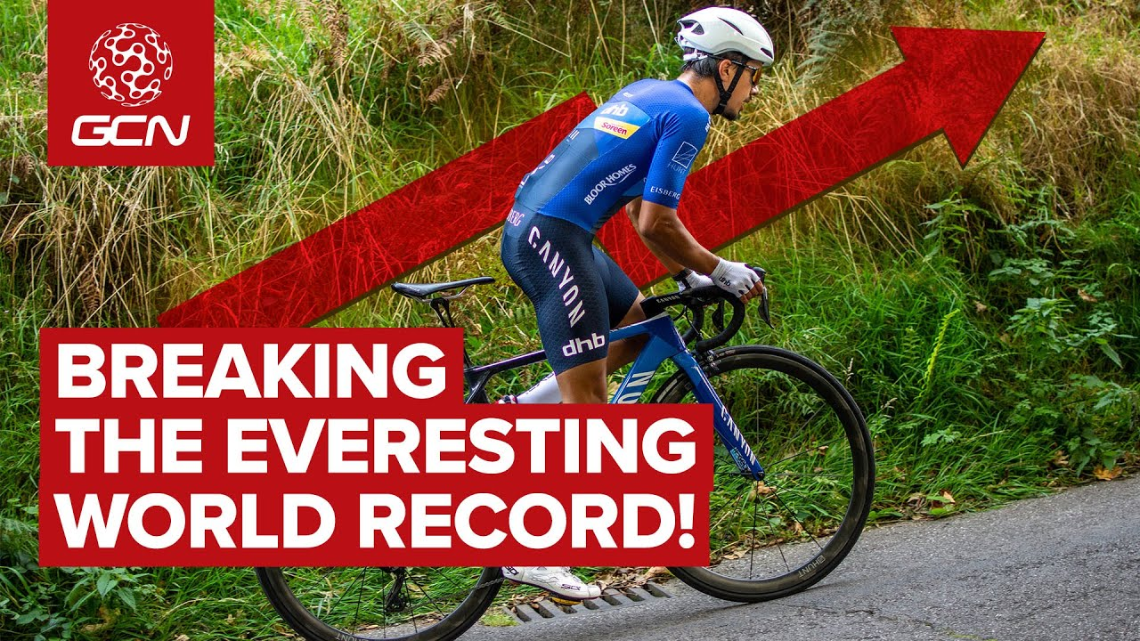 Everesting World Record Attempt | Max Stedman's Simple Yet Brutal Cycling Challenge