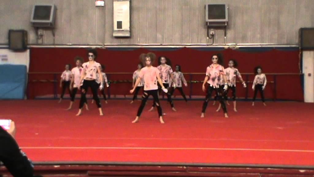 Thriller Notts Gymnastics Display Youtube