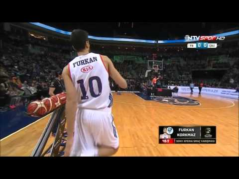 Furkan Korkmaz Final Dunks  All-Star 2016