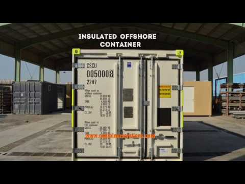 Container Conversions- Insulated Offshore (DNV 2.7-1) Container