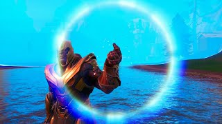 Snapping with all 6 Infinity stones (Fortnite X Endgame)