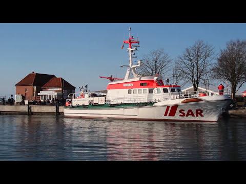 DorschTage Laboe 2013_1; Seenotrettungskreuzer MS Berlin im Hafen Laboe