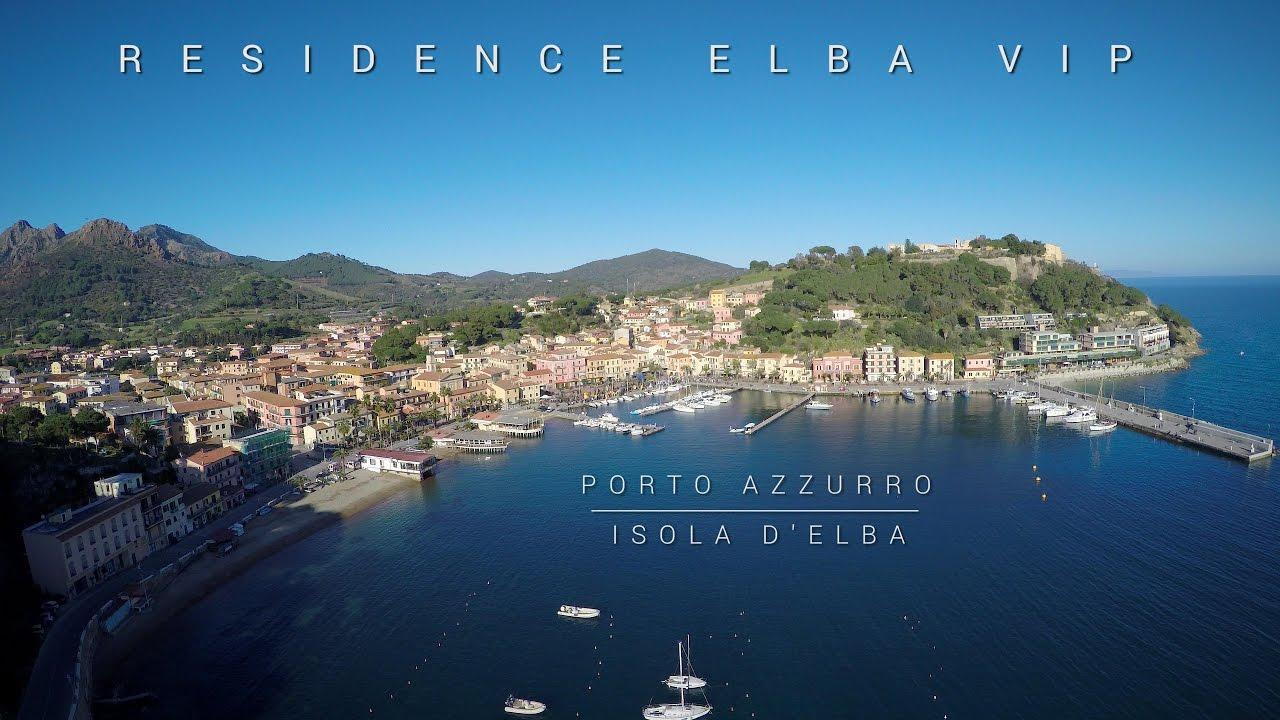 Residence Elba Vip Porto Azzurro Isola d\'Elba Video Promozionale con Drone  4K