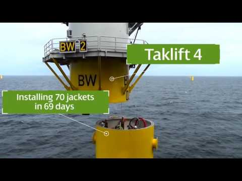 Ground Breaking - Wikinger Offshore Windfarm