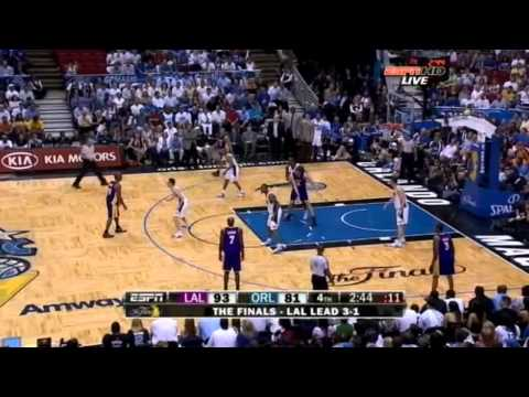 2009 NBA Finals - Los Angeles vs Orlando - Game 5 Best Plays