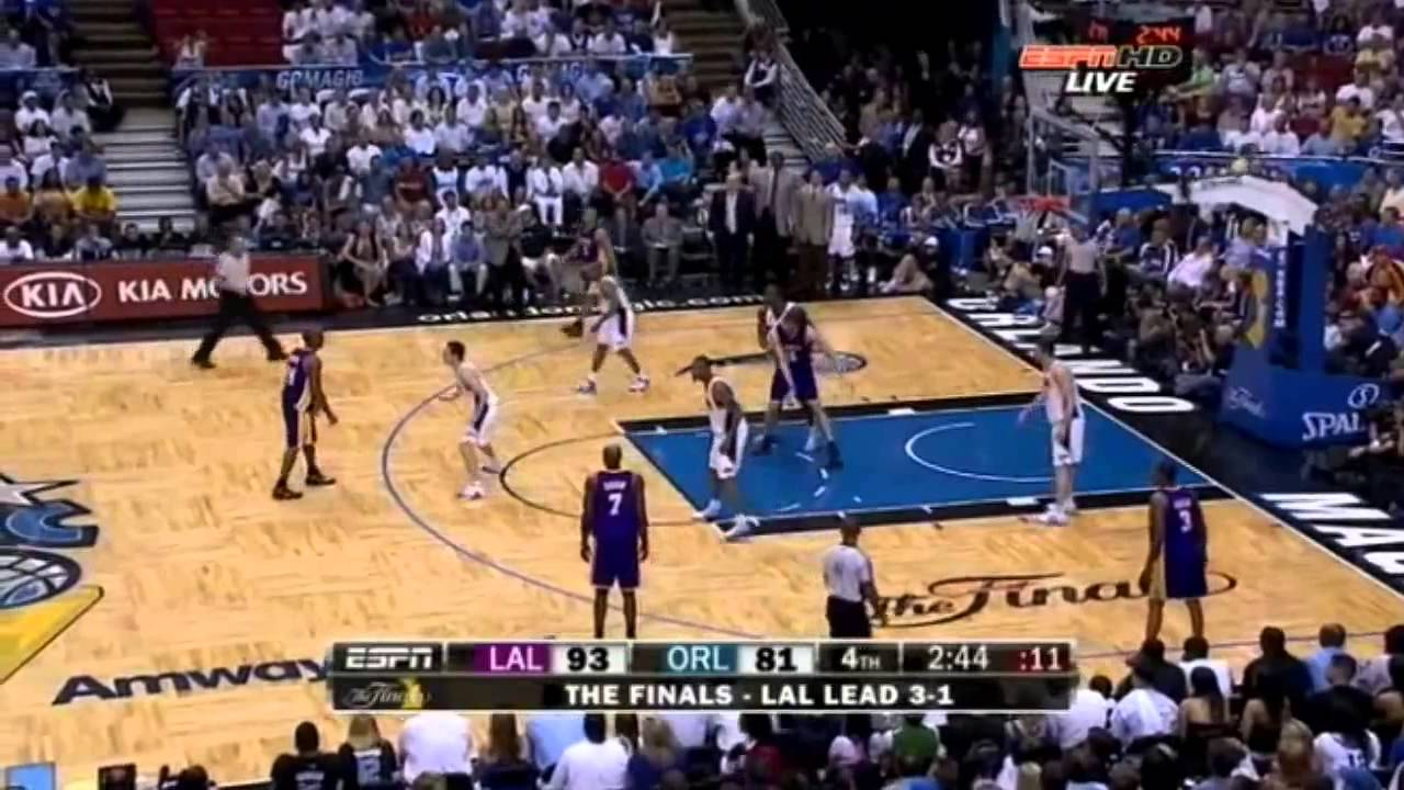 2009 NBA Finals - Los Angeles vs Orlando - Game 5 Best ...