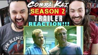COBRA KAI - SEASON 2 Official TRAILER - REACTION!!!
