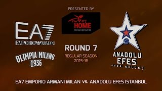 Highlights: EA7 Emporio Armani Milan-Anadolu Efes Istanbul