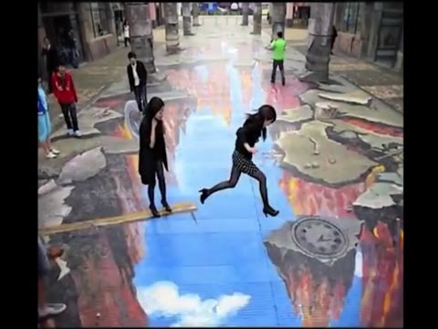 AMAZING OPTICAL ILLUSION VIDEO COMPILATION ( The Best )