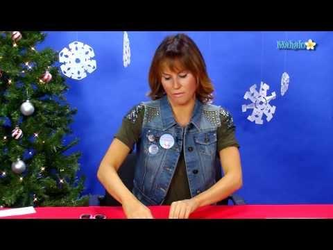 How To Make Christmas Snowflake