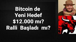 Bitcoin $12.000 mı  gidiyor ? Ralli başladı mı ?