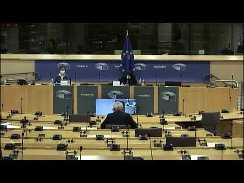 Diálogo económico con Pascal Donohoe, presidente del Eurogrupo