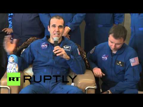 """Kazakhstan: Astronaut says co-operation with Russian colleagues worked """"fantastically"""""""
