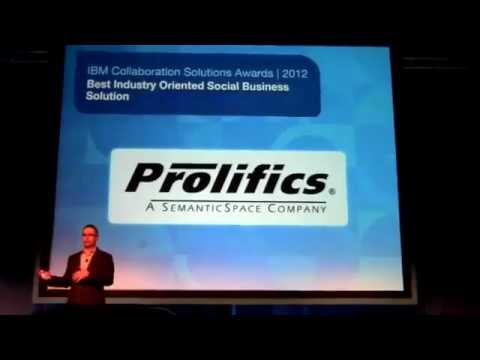 Prolifics Wins Best Industry Oriented Social Business Solution