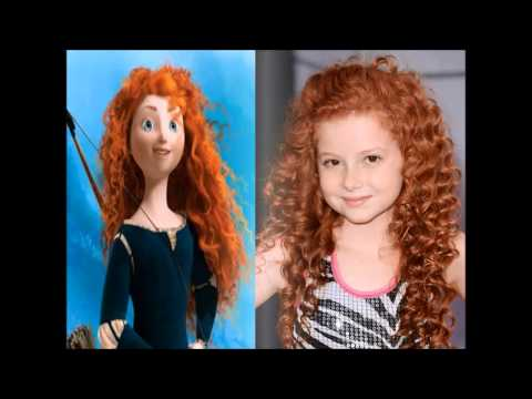 Celebrities Who Look Like Animated Characters