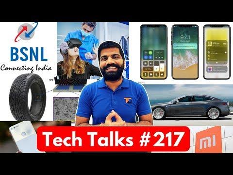 Tech Talks #217 - BSNL Chauka 444, iPhone Wireless Charging, Reward Mi, Paid Promotions, VR Dentist