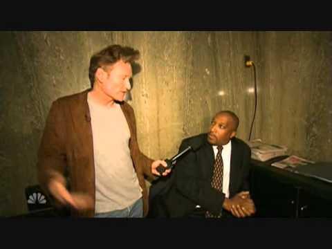 Conan Travels - 'Conan visits Bruce Britt, Fire Safety Director' - 10/16/07