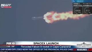 FULL: SpaceX Launch And Landing of Falcon 9 Rocket in Florida (FNN)