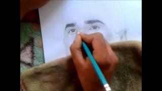 Memo Ochoa dibujado