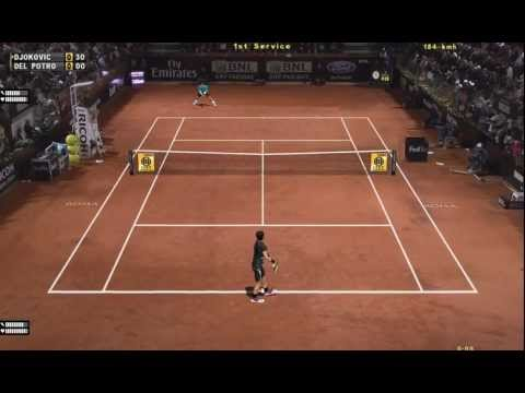 Tennis Elbow 2013 Gameplay