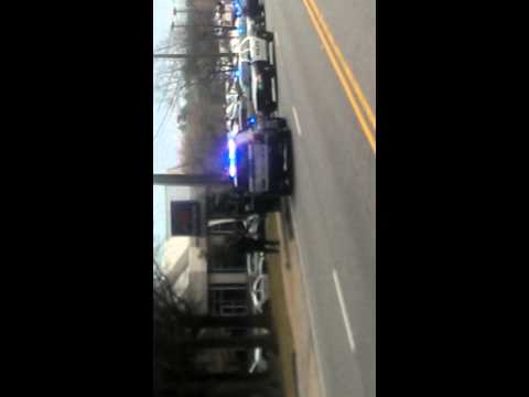 Crazy police chase in Roswell GA