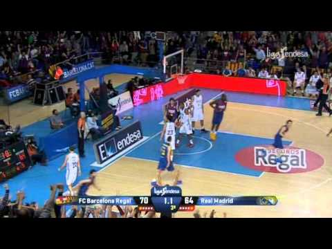 Navarro Show - 33 Points Against Real Madrid