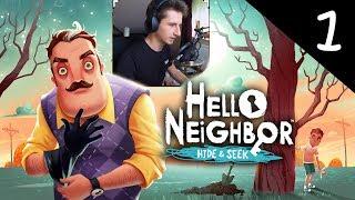 Hello Neighbor Hide & Seek #1 ODCINEK 1 | Dzieci sąsiada