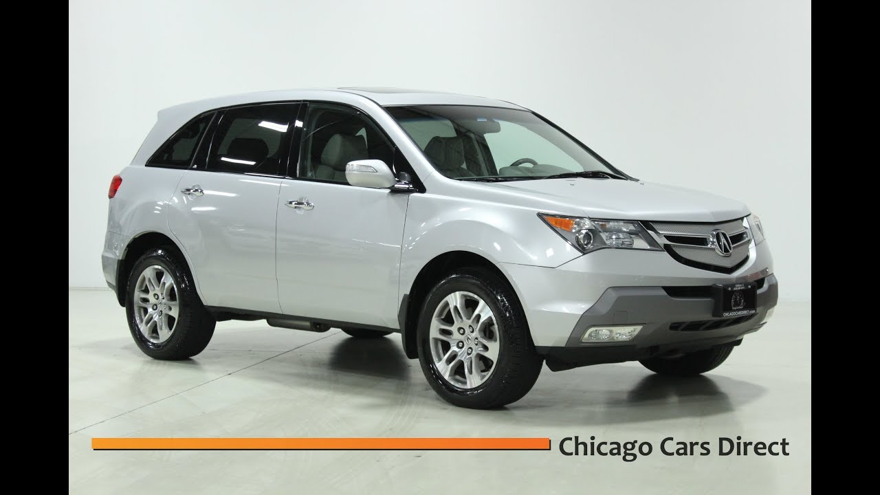 2008 acura mdx tech entertainment pkg youtube