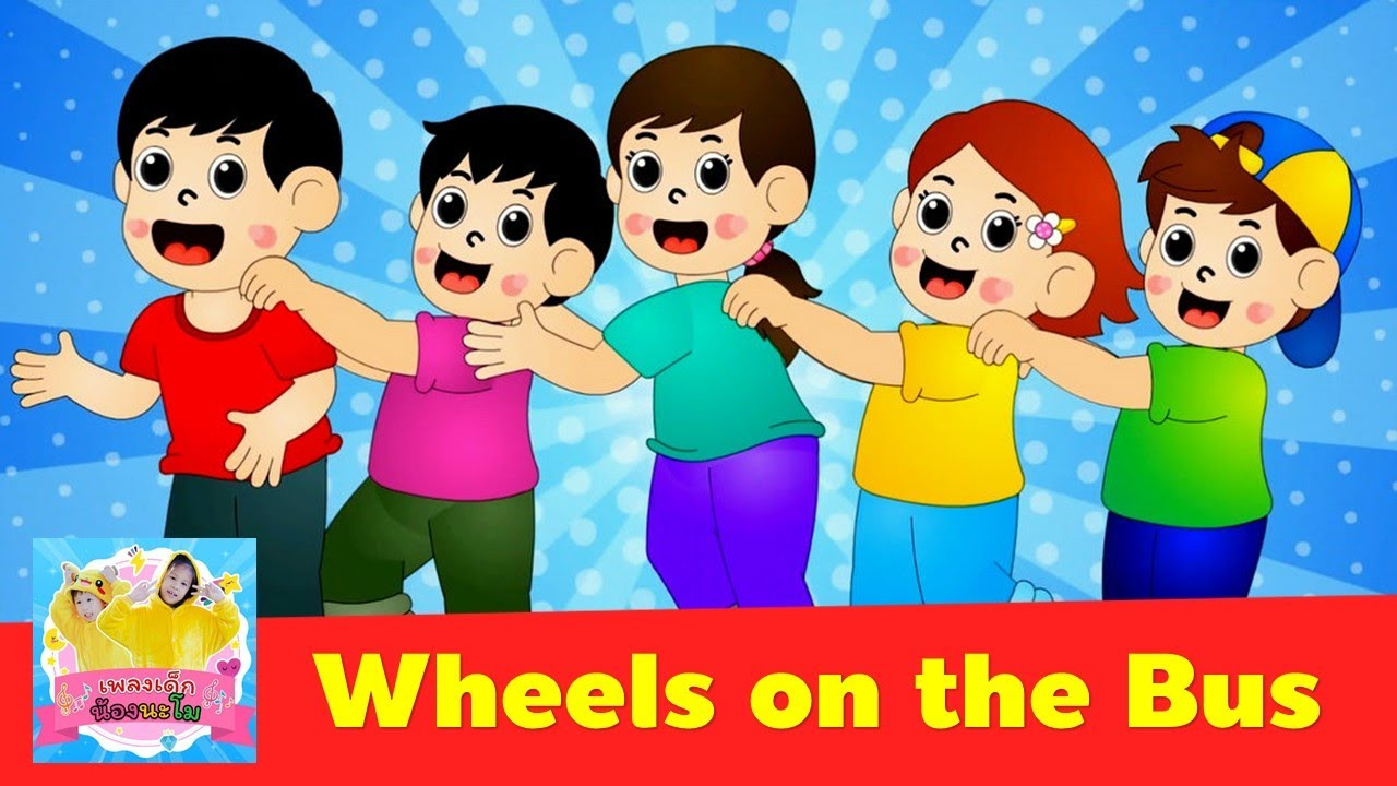 Wheels on the Bus 2021 | Sign Language For Kids | Kids song 2021 | เพลงเด็กภาษาอังกฤษ