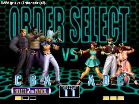 Fightcade Replay KOF2002 - RAFA (Mexico) vs (Tr)bahadir (Turkey)
