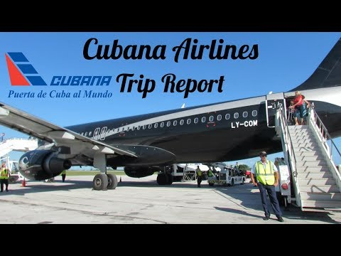 Trip Report | Cubana Airlines | Economy | Airbus A320 | Montreal-Camaguey (YUL)
