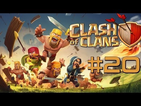Clash of Clans [HD] #20 - Besuchszeit / Let's Play Clash of Clans / Android_iOS