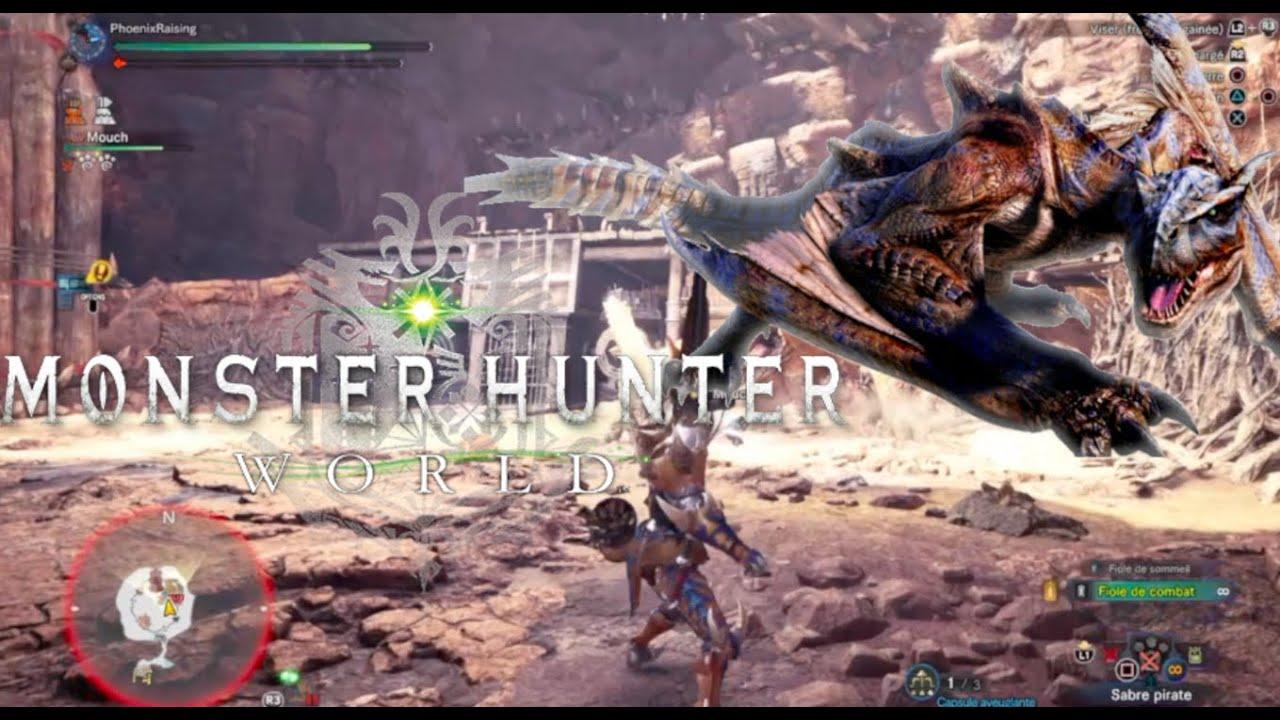 MONSTER HUNTER WORLD GAMEPLAY: TIGREX HUNTING FUN