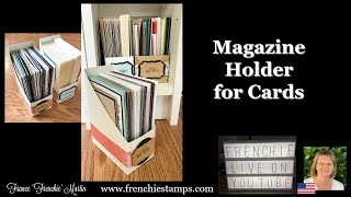 Magazine Holder for cards