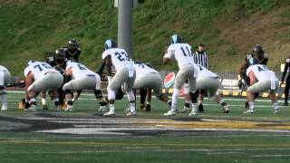 Football: Towson Bucked The Rams, 38-21 in Home Finale