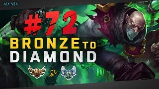 How To: HARD CARRY A LOSING TEAM | Facing Tryndamere | Singed Top | Bronze to Diamond Episode #72